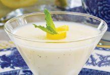 Lemon-Vanilla Panna Cotta