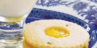 Lemon-Tarragon Linzer Cookie