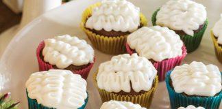 Mini Mexican Chocolate Cupcakes