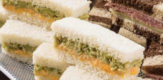 Olive & English Cheddar Tea Sandwiches
