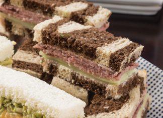 Roast Beef, Horseradish, and Cucumber Tea Sandwich
