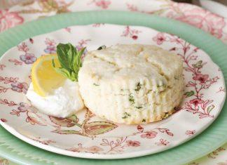 Lemon-Basil Scones