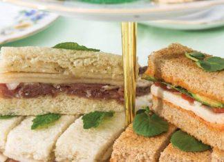 Prosciutto & Pear Tea Sandwiches