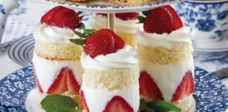 Strawberry Tea Cakes