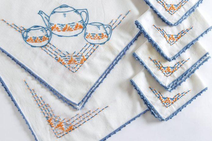 Collector's Corner: Linens for Tea