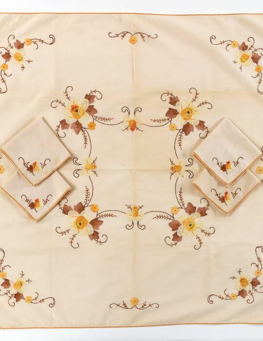 Collector's Corner: Linens for Tea