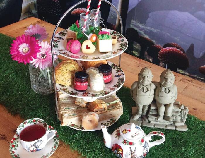 Teatime with a Theme