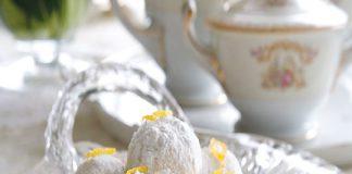 Lemon Mexican Wedding Cookies