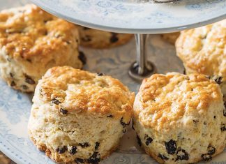 Fat Rascal Scones