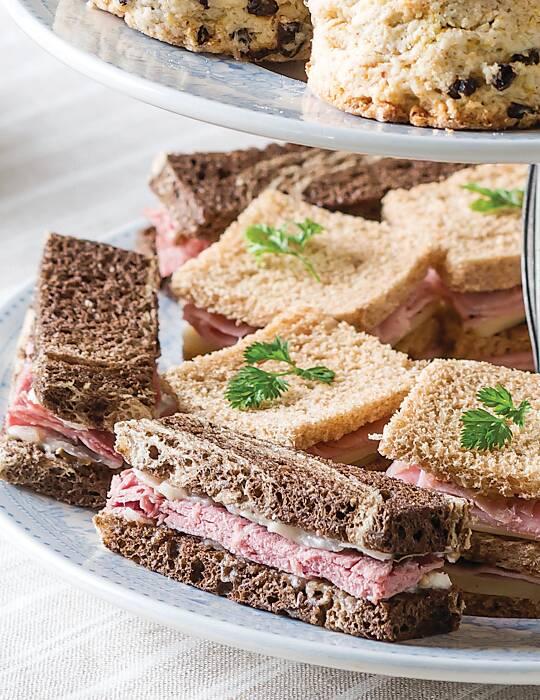 Corned Beef Tea Sandwiches