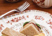 Turkey-Apple Tea Sandwiches