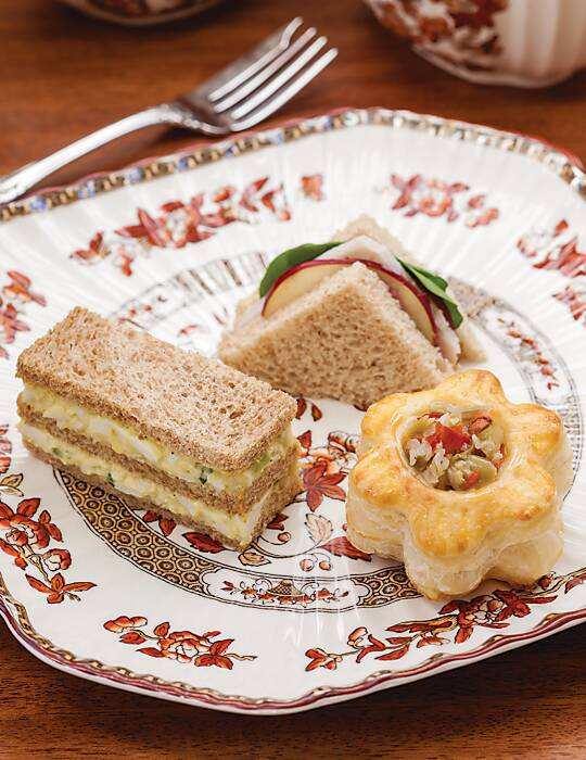 Turkey-Apple Tea Sandwiches