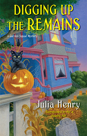 Julia Henry Serves Up a Spooky Mystery in Digging Up the Remains