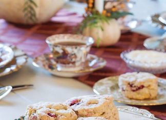 Apple-Cranberry Scones