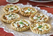 Assam-Vegetable Tartlets