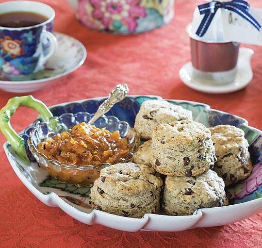 Chocolate-Chai Scones