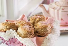 Pink Lady Scones