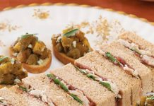Turkey Tea Sandwiches