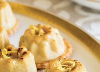 Ginger-Rooibos Crème Brûlée Tartlets