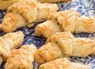 Asiago-Chive Rugelach