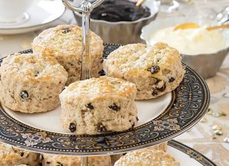 Cinnamon-Currant Scones