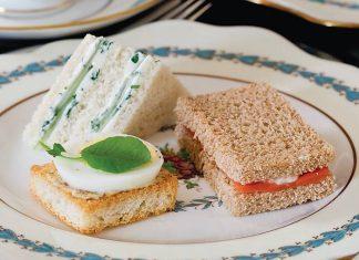 Piquant Salmon Tea Sandwiches