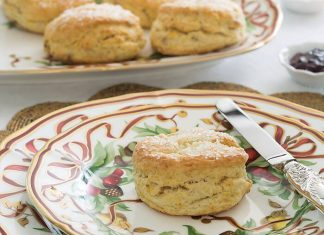 Orange, Pecan & Pear Scones