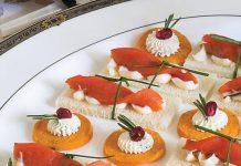 Smoked Salmon–Aïoli Canapés
