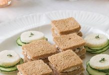 Cucumber-Thyme Sandwiches