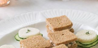 Cucumber-Thyme Sandwiches