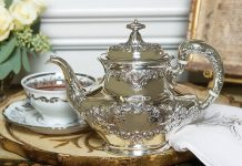 Treasured Teapot: Stunning Silver