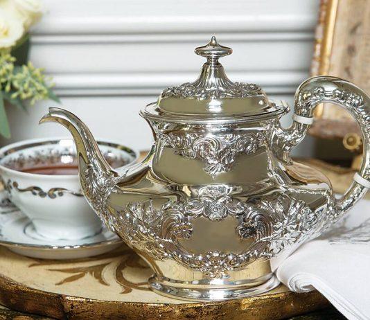 Treasured Teapot: Stunning Silver