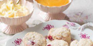 Vanilla-Cranberry Scones