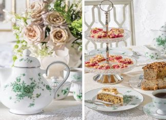 Tea with Irish Flair