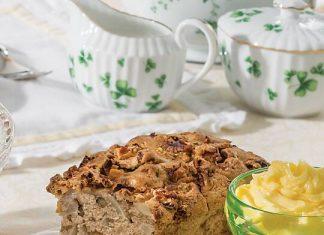 Apple-Brandy Tea Bread