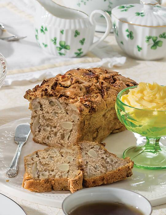 Apple-Brandy Tea Bread