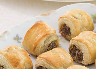 Apple & Pork Sausage Rolls