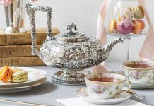 Treasured Teapot: Ravishing Repoussage