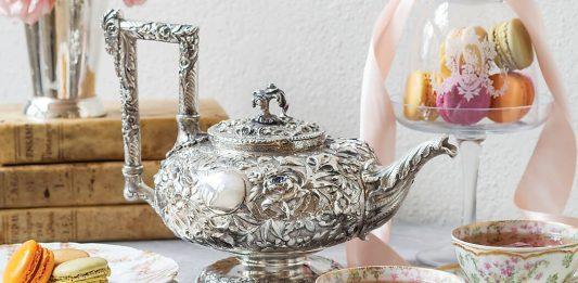 Treasured Teapot: Ravishing Repoussage