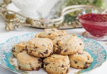 Very Chocolaty Scones