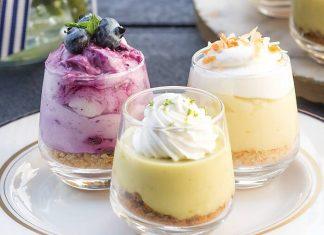 Blueberry Cream Pie Shooters