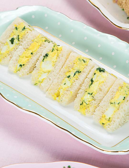 Egg and Watercress Tea Sandwiches