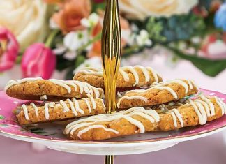 Ginger Hob Knob Cookies