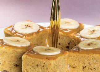 Sticky Banoffee Cake