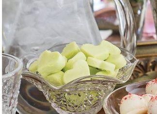 Butter Mint Hearts