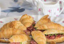 Mini Roast Beef Croissants
