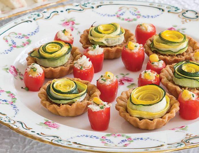 Summer Squash Tartlets