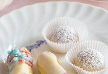 White Chocolate-Vanilla Baby Éclairs