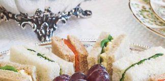 Watercress and Egg Salad Tea Sandwiches