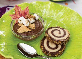 Chocolate-Vanilla Pinwheels